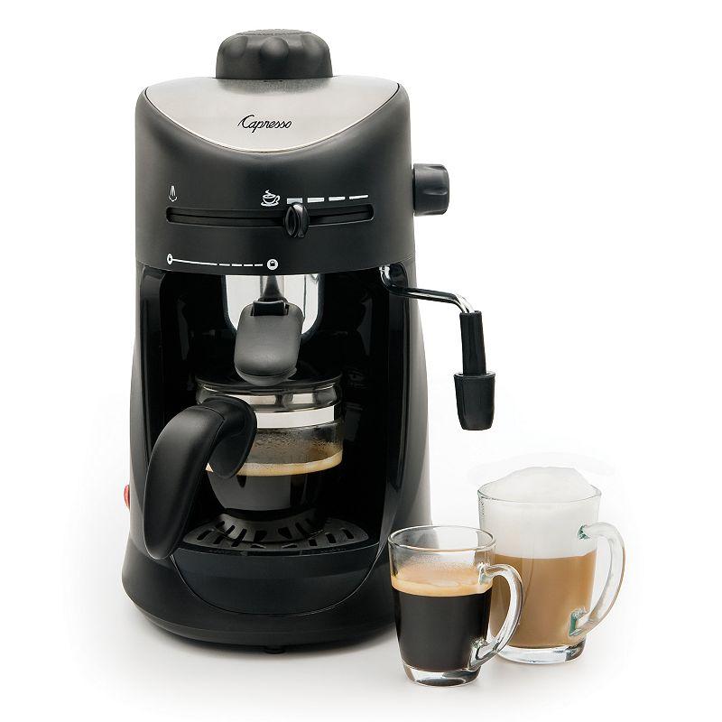 Capresso 4-Cup Espresso & Cappuccino Machine (Black)