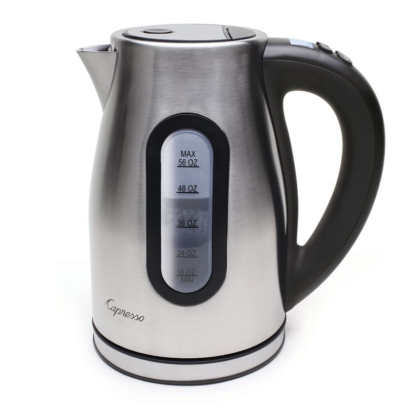 Capresso H2O Pro Programmable Water Kettle - Brushed Stainless Steel 92198849
