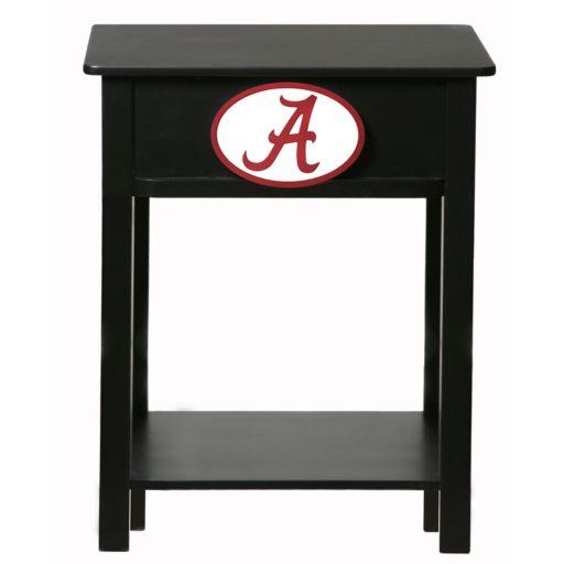 Alabama Crimson Tide Birch Side Table
