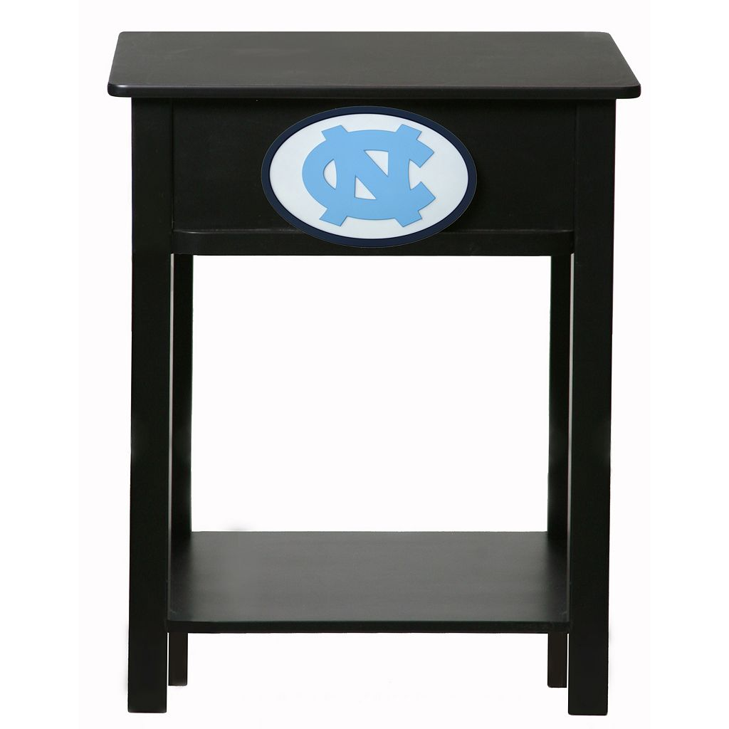 North Carolina Tar Heels Birch Side Table