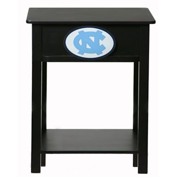 North Carolina Tar Heels Birch Side Table