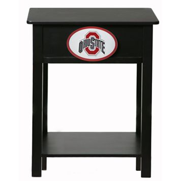 Ohio State Buckeyes Birch Side Table