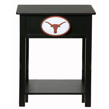 Texas Longhorns Birch Side Table