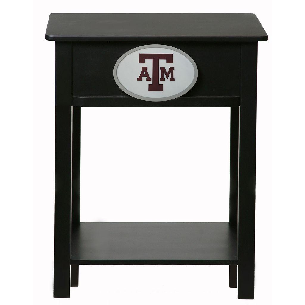 Texas A&M Aggies Birch Side Table