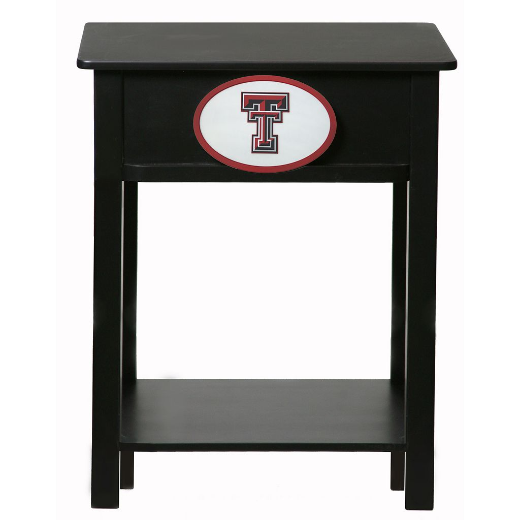 Texas Tech Red Raiders Birch Side Table