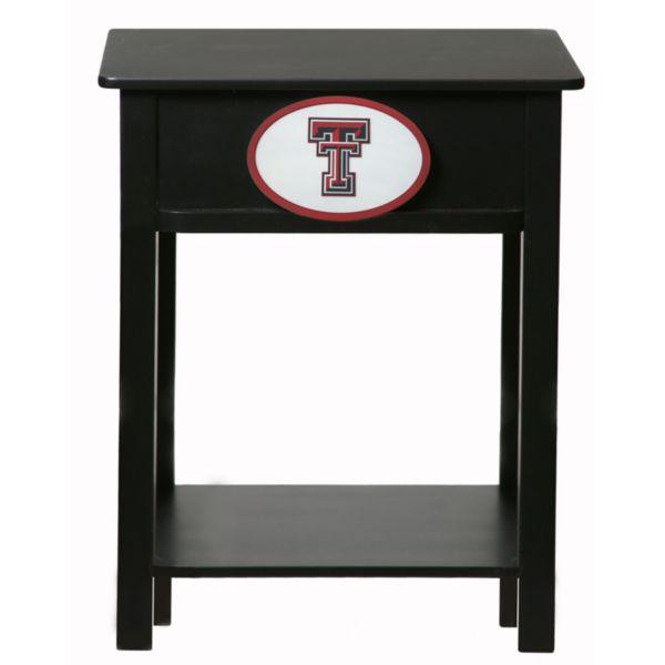Texas Tech Red Raiders Birch Side Table