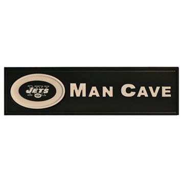 New York Jets Wooden Man Cave Sign