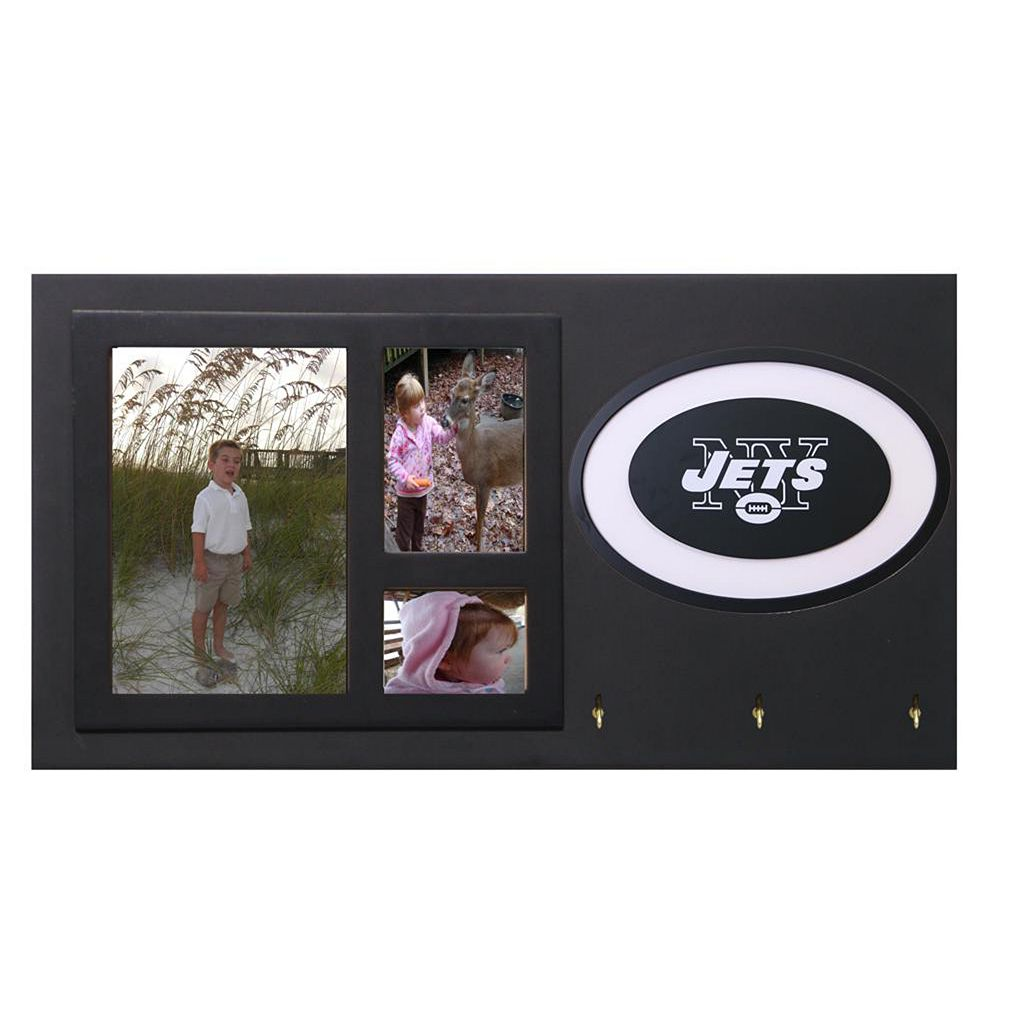 New York Jets Key Hook Collage Frame