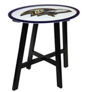 Baltimore Ravens Wooden Pub Table
