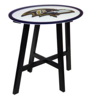 Baltimore Ravens Wooden Pub Table