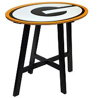 Green Bay Packers Wooden Pub Table