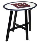 New York Giants Wooden Pub Table