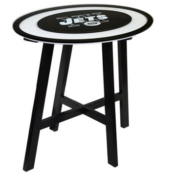 New York Jets Wooden Pub Table