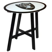 Oakland Raiders Wooden Pub Table