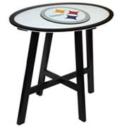 Pittsburgh Steelers Wooden Pub Table