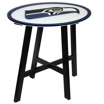 Seattle Seahawks Wooden Pub Table
