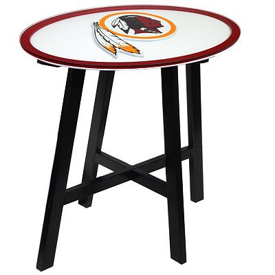 Washington Redskins Wooden Pub Table