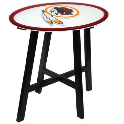 Washington Redskins Wooden Pub Table