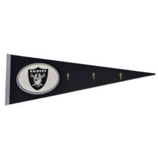 Oakland Raiders Pennant Coat Rack