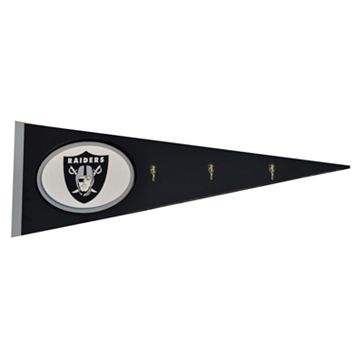 Oakland Raiders Pennant Coat Rack