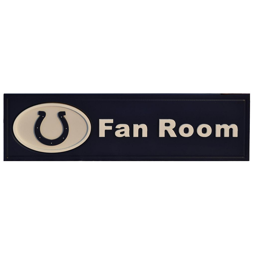 Indianapolis Colts Fan Room Sign