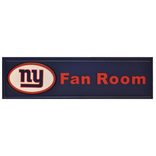 New York Giants Fan Room Sign