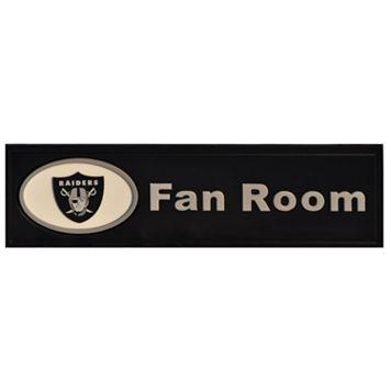 Oakland Raiders Fan Room Sign