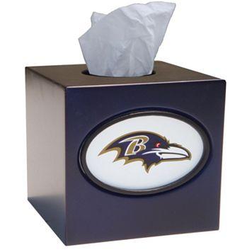 Baltimore Ravens Tissue Box Cover