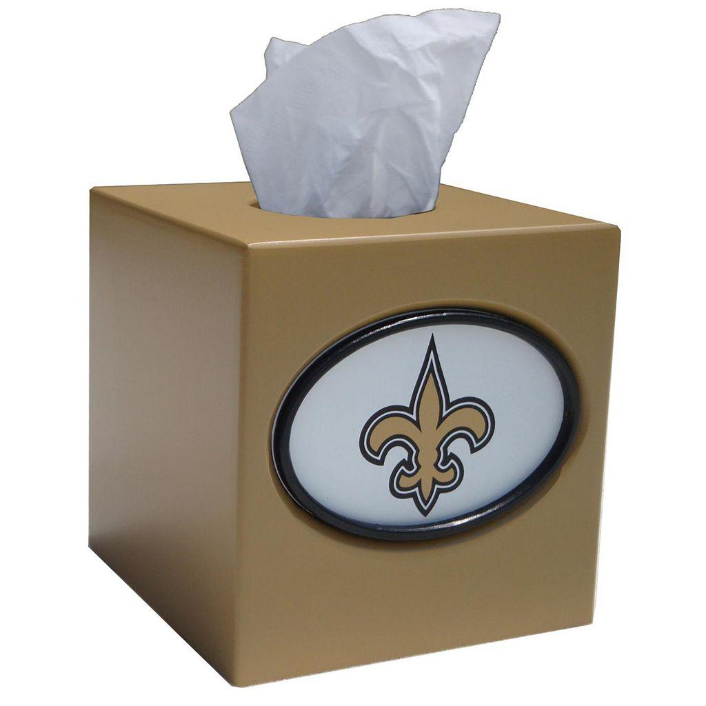 New Orleans Saints Tissue Box Cover