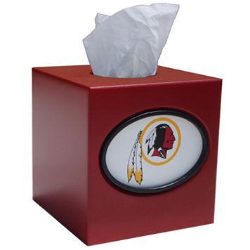Washington Redskins Tissue Box Cover