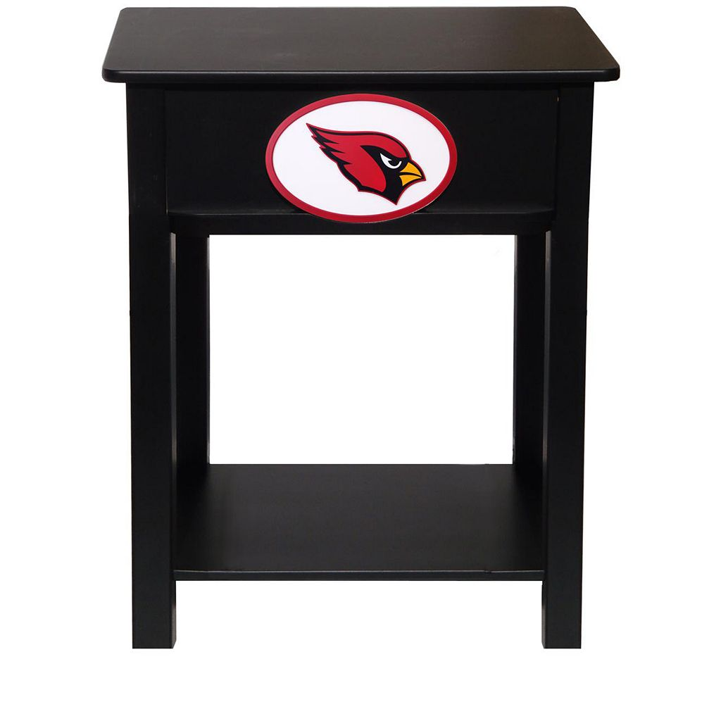 Arizona Cardinals Birch Side Table