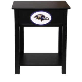 Baltimore Ravens Birch Side Table