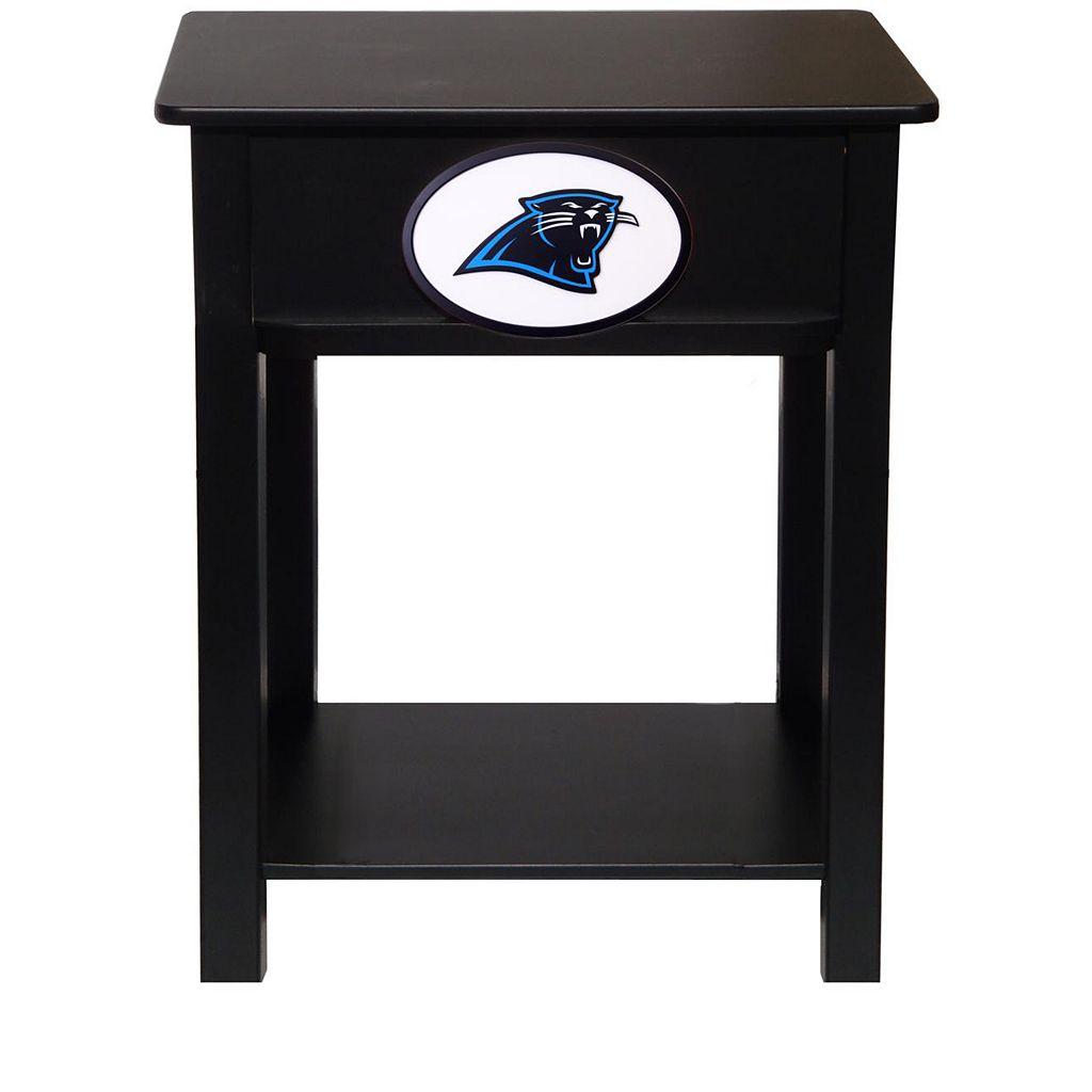 Carolina Panthers Birch Side Table