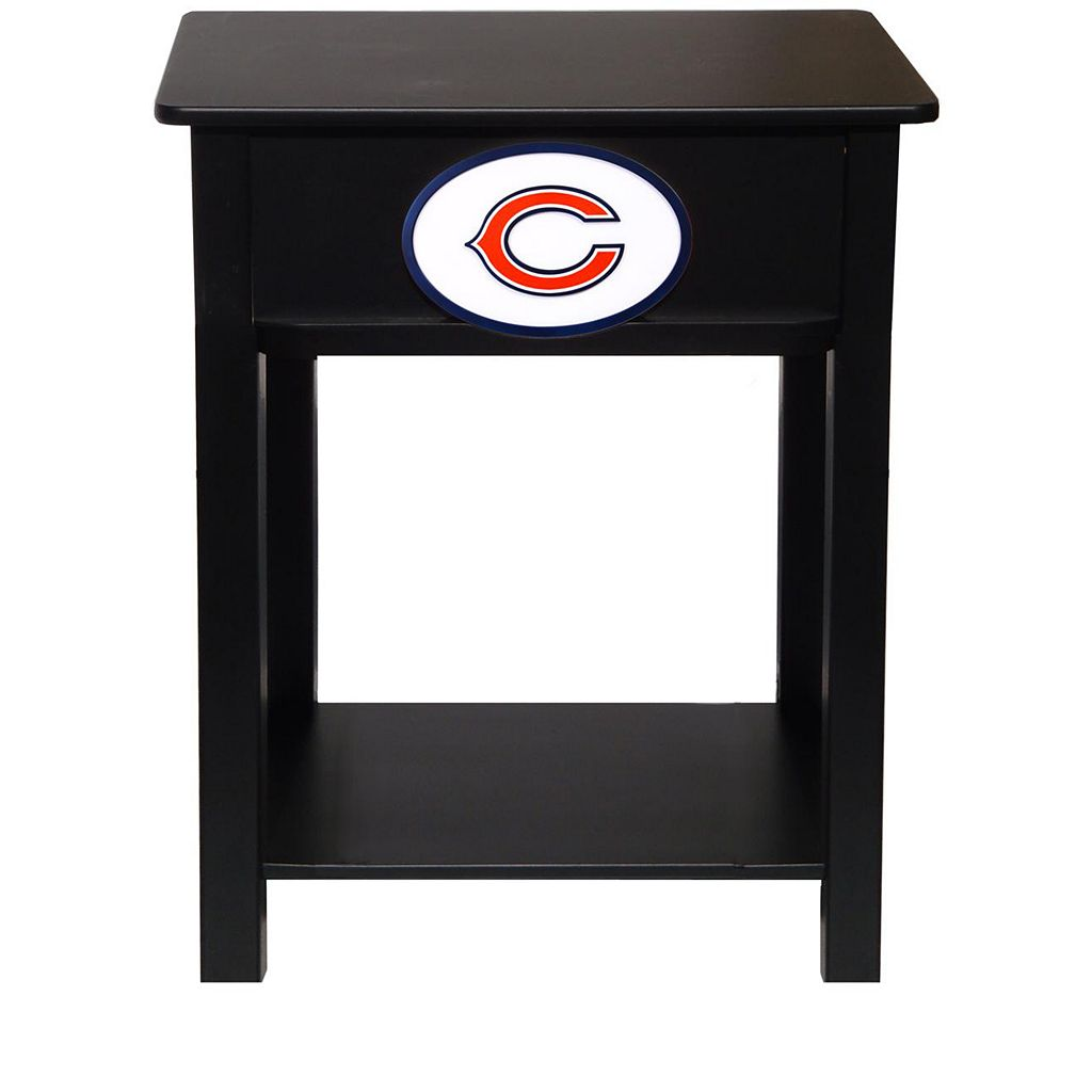 Chicago Bears Birch Side Table