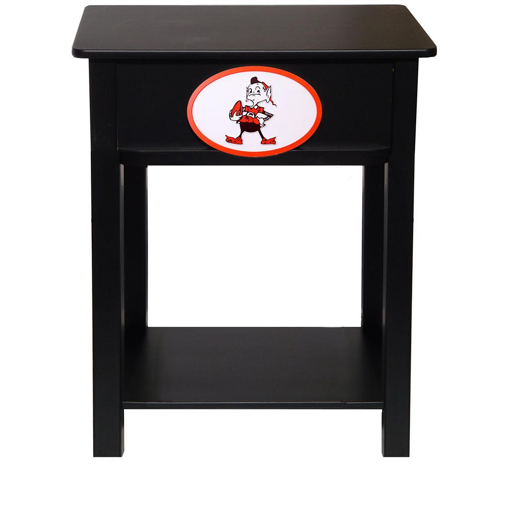 Cleveland Browns Birch Side Table