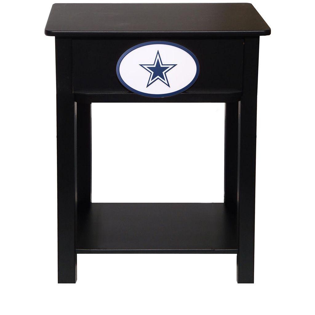 Dallas Cowboys Birch Side Table