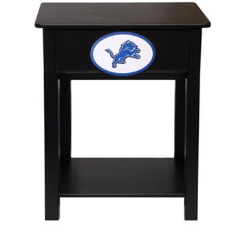 Detroit Lions Birch Side Table