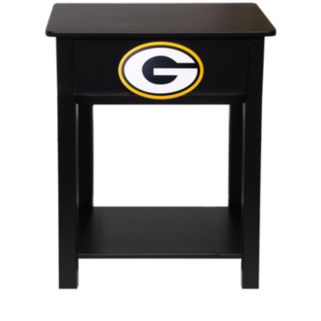 Green Bay Packers Birch Side Table