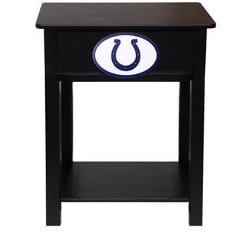 Indianapolis Colts Birch Side Table