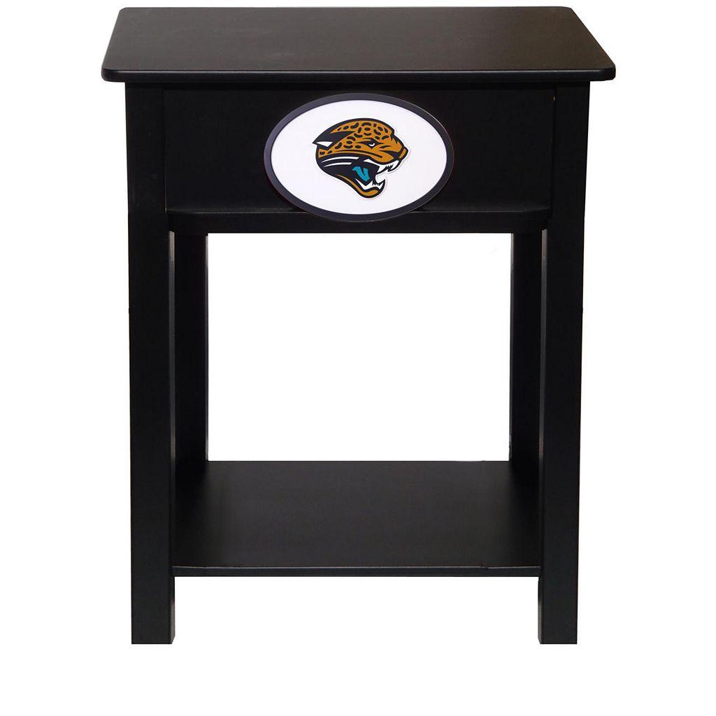 Jacksonville Jaguar Birch Side Table