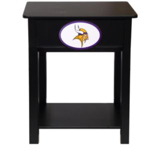 Minnesota Vikings Birch Side Table