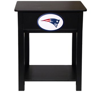 New England Patriots Birch Side Table
