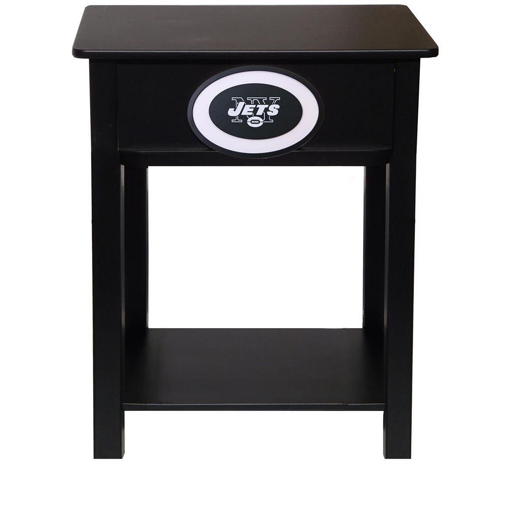 New York Jets Birch Side Table