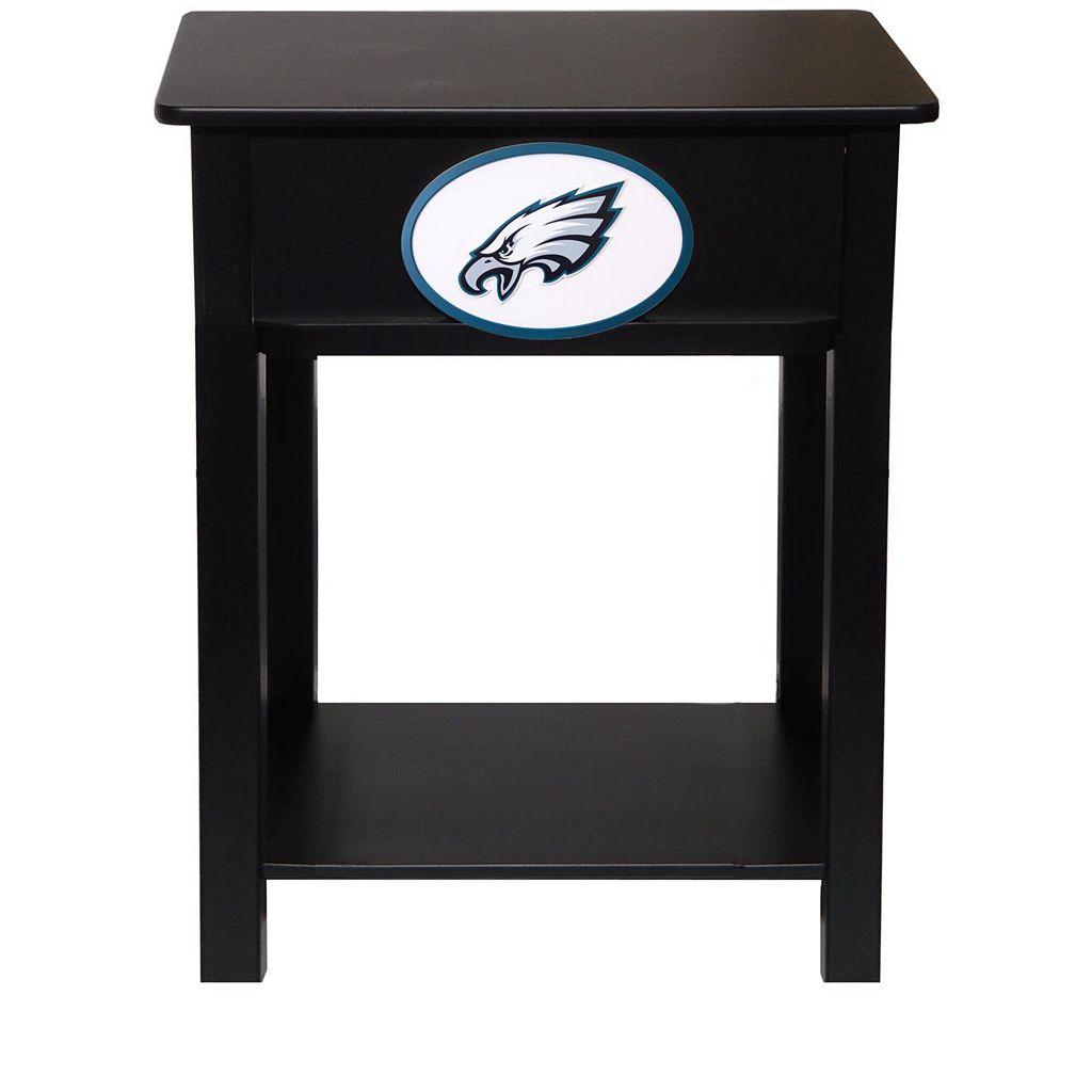 Philadelphia Eagles Birch Side Table