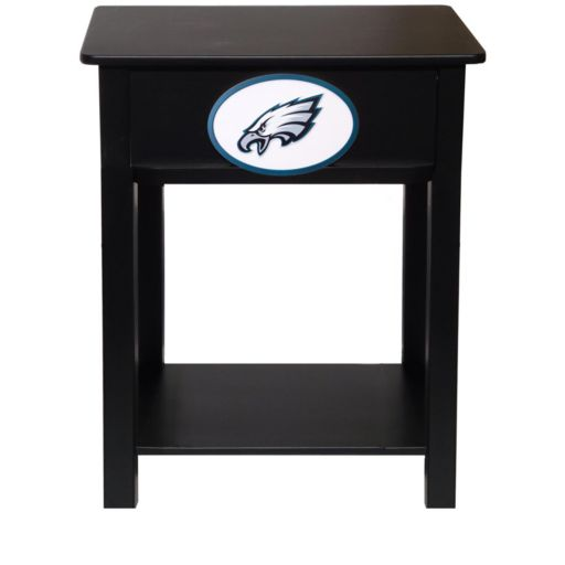 Philadelphia Eagles Birch Side Table