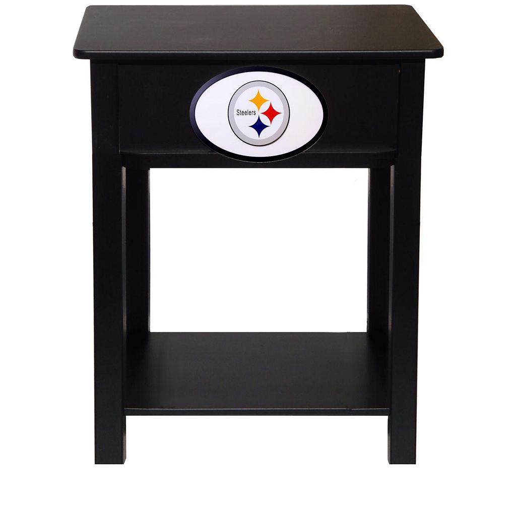 Pittsburgh Steelers Birch Side Table