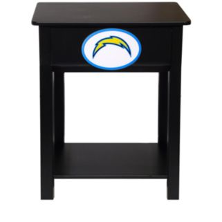 San Diego Chargers Birch Side Table