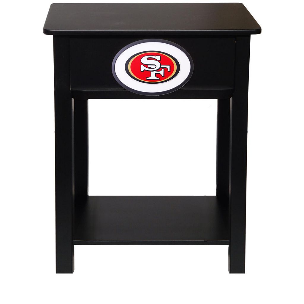 San Francisco 49ers Birch Side Table