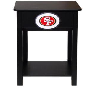 San Francisco 49ers Birch Side Table