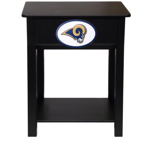 Los Angeles Rams Birch Side Table